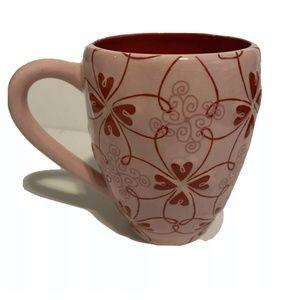 🌺 Starbucks Raised Hearts Valentines Day Mug